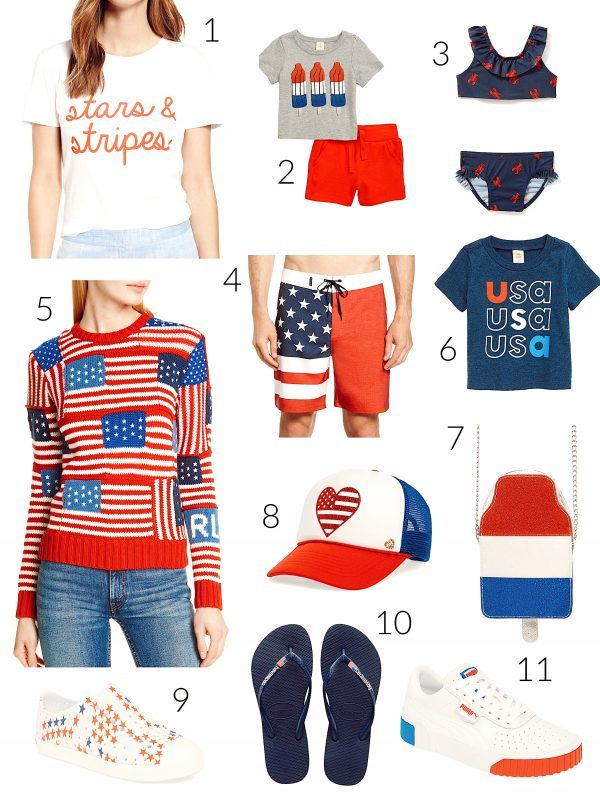 July 4th Looks for the Whole Family